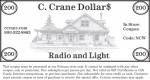 CCrane Coupon $200