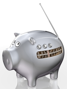 Radio Piggy Bank!