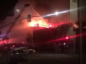 Main St Fire 6AM