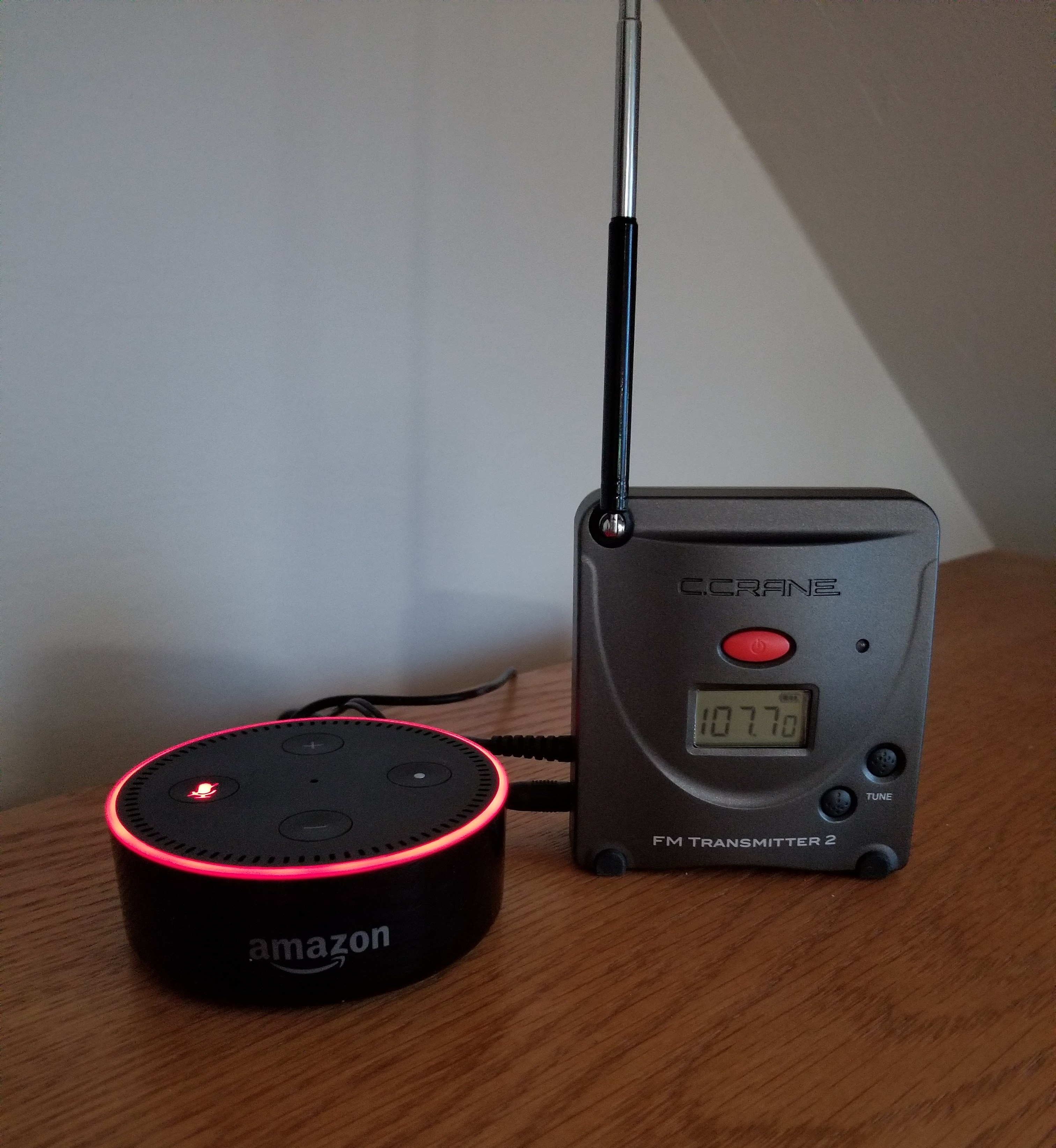 A Hackers Guide To Alexa C Crane Blog Hacks And Mods Easy Use Fm Radio Receiver